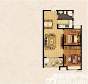 宝龙华庭B户型2室2厅92.02㎡