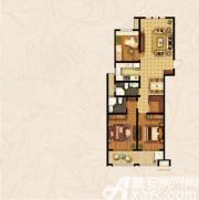 宝龙华庭C户型3室2厅141.88㎡