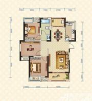 绿地臻城4#Q5户型3室2厅113.99㎡