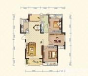 绿地臻城4#Q5户型3室2厅113㎡