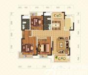 绿地臻城9#L1户型3室2厅136.08㎡