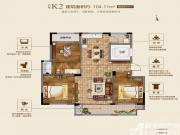 联佳爱这城K23室2厅104.11㎡
