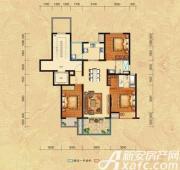 恒生秀山郡H户型二层3室2厅118㎡