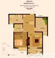 金色新天地4#03(02)户型2室2厅81.47㎡