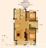 金色新天地1#3#01户型3室2厅111.84㎡