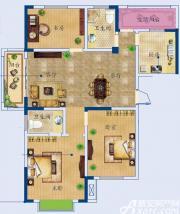 月亮湾E户型3室2厅120.67㎡