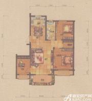 金碧秋浦E1户型3室2厅115㎡