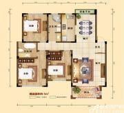 凡尔赛公馆D1户型 3室2厅1卫3室2厅125㎡