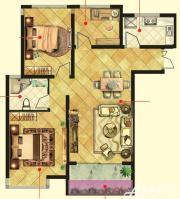 万成香格里拉D4户型3室2厅94㎡