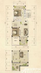 志城江山郡康桥映像3室2厅155.92㎡