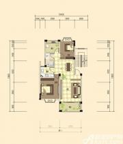 志城江山郡F-1户型(4—6)2室2厅90.5㎡
