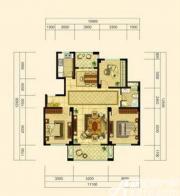 中源上城A3户型  3室2厅1卫3室2厅122㎡