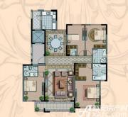 金海岸名邸A3户型  4室2厅3卫4室2厅194.12㎡
