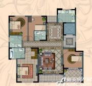 金海岸名邸A1户型  3室2厅2卫3室2厅143.29㎡