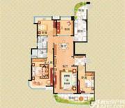 安庆碧桂园J360户型4室2厅176㎡