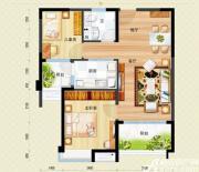 安庆碧桂园J475-B户型2室2厅85㎡