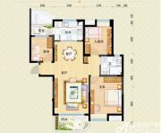 安庆碧桂园J472-C户型3室2厅111.72㎡