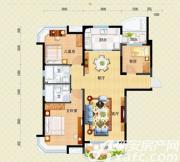 安庆碧桂园j472-a户型3室2厅131.18㎡