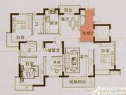 马山国际广场G1户型4室2厅145㎡