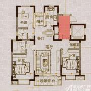 马山国际广场A2户型3室2厅118㎡