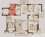马山国际广场A1户型3室2厅134.5㎡
