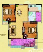 高速秋浦天地D3户型2室2厅78.91㎡