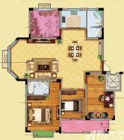 高速秋浦天地C4户型3室2厅141.14㎡
