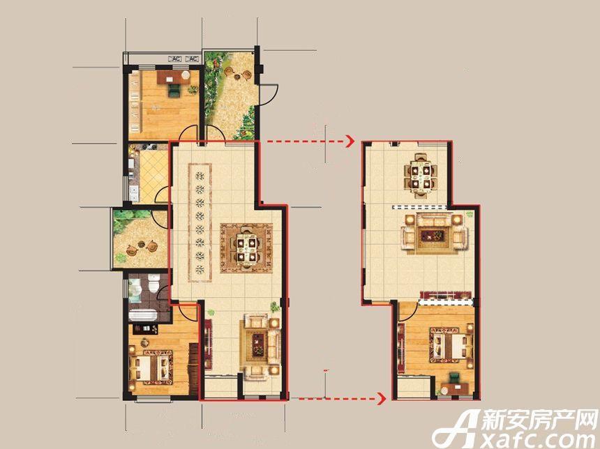 得月坊南楼3室2厅110平米