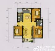 富春国际花园B3户型3室2厅114.2㎡