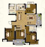 山水文苑A24室2厅140.34㎡