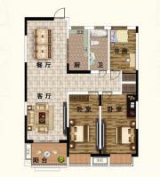山水文苑H23室2厅106.64㎡