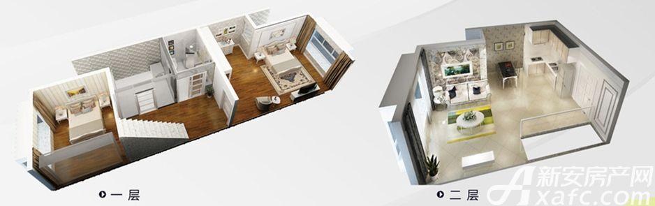 宜地和雅汇A2户型图3室1厅107.99平米