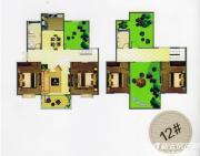 天柱栖庭D1户型4室2厅132㎡