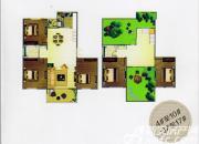 天柱栖庭C2户型5室2厅154㎡