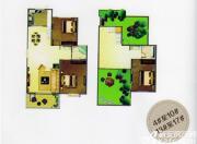 天柱栖庭C1户型3室2厅124㎡