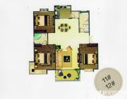 天柱栖庭B2户型3室2厅110㎡