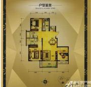 大发宜景城3期C2户型3室2厅116.54㎡