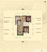 汇峰广场D3户型2室2厅94.82㎡