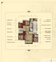 汇峰广场E1户型4室2厅177.81㎡