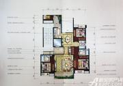 汇峰广场E4户型3室2厅158.86㎡