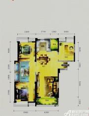华茂1958A9户型3室2厅127.34㎡