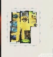 华茂1958F户型3室2厅125㎡