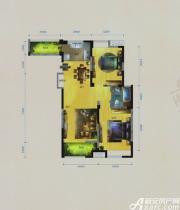 华茂1958C户型2室2厅99.41㎡