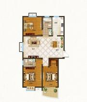 百蕊宜城水岸三期K3室2厅129.94㎡
