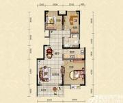 迎春颐和城三室两厅一卫C1户型图3室2厅99.04㎡