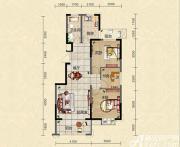 迎春颐和城三室两厅一卫E2户型图3室2厅101.21㎡