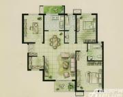 新文采东湖一品B#楼D户型沁风春3室2厅135㎡