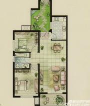 新文采东湖一品B#楼B户型星洲里2室2厅95㎡