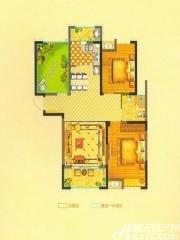 恒生阳光城6#C3户型3室2厅96.14㎡