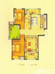恒生阳光城6#C1户型3室2厅103.97㎡